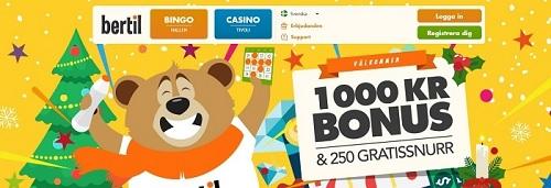 Spela på nya Bertil Bingo 2018 på internet