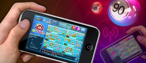 Bingo på Internet i mobilen